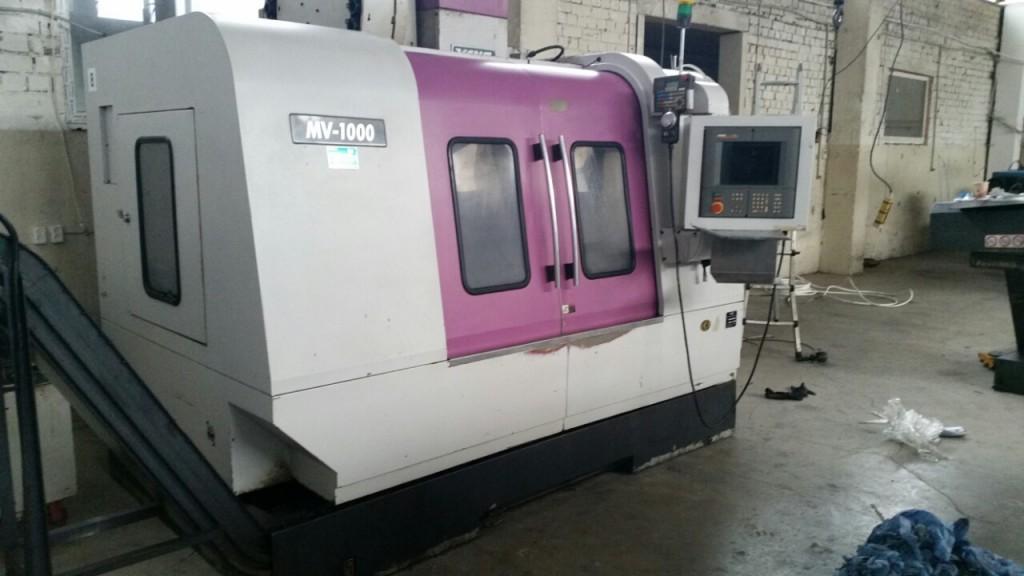 Vertical CNC Machining Center YANG MV-1000<br /> X-1020mm Y-550 mm Z-610 mm